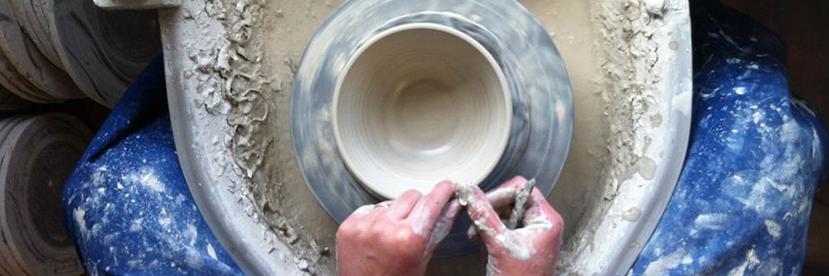 the process of making pottery