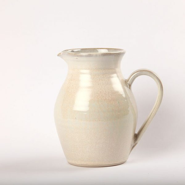White Ceramic Handmade Jug inspired by the Wild Atlantic Way