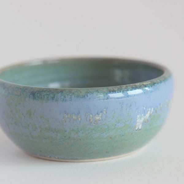 Handmade Blue dipping bowl