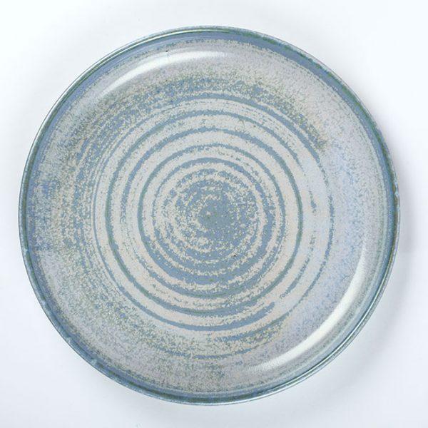 Flat food Platter Blue handmade in the Wild Atlantic Way