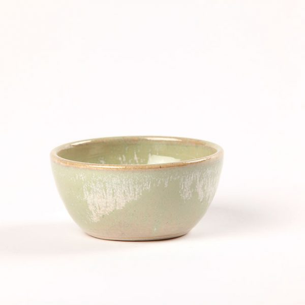 Green dipping bowl inspired by the Wild Atlantic Way