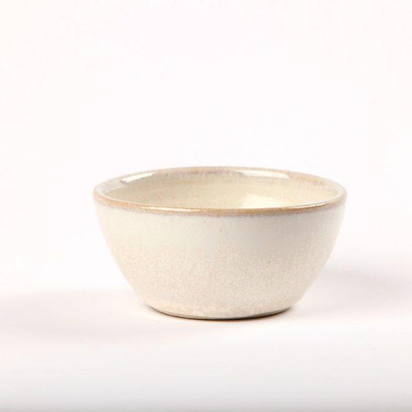 Ceramic small white bowl