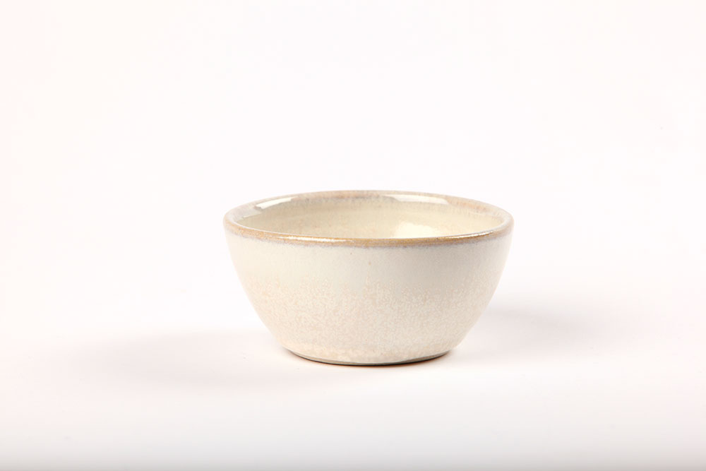 Ceramic small white bowl