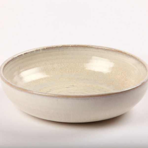 Irish Handmade Pottery Bowl White