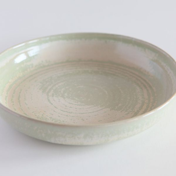 Green Serving Ceramic Serving Dish