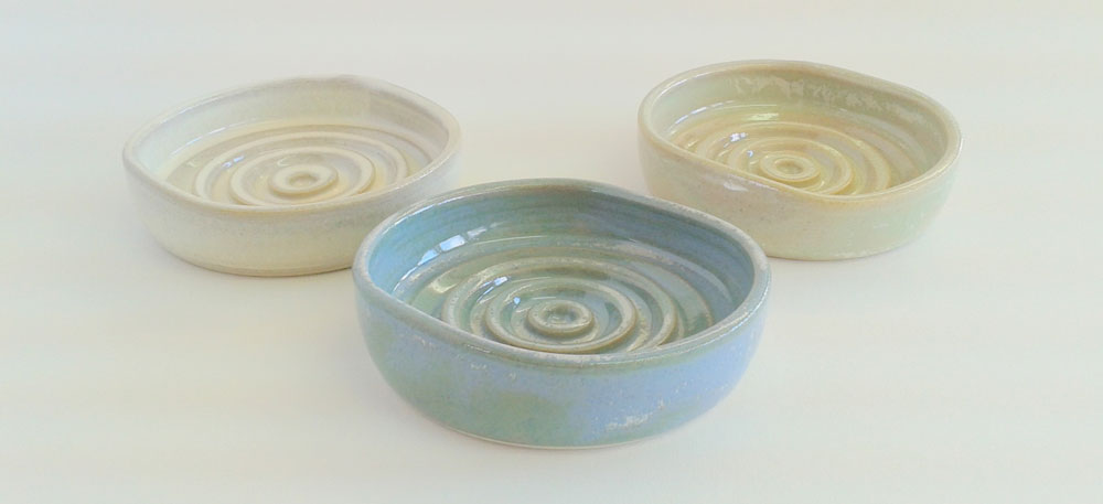 Handmade ceramic Soapdish