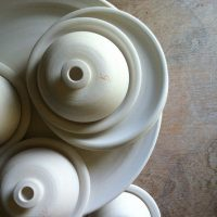 Bisque ware ready for glazing