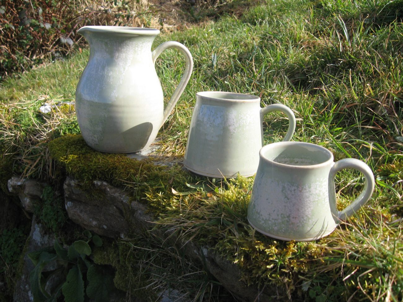 Stoneware pottery handmade in West Cork, Ireland