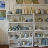 Pottery on display in West Cork
