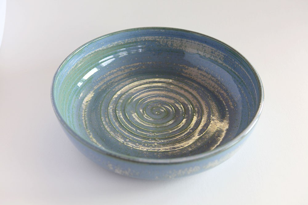 Handmade Large Pottery Serving Bowl