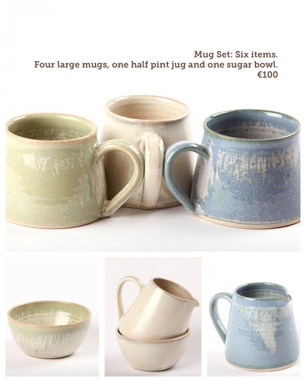 Handmade Irish Pottery Mug